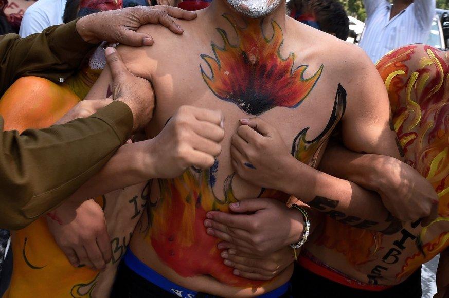 Indijoje aktyvistai mini Tibeto sukilimo metines