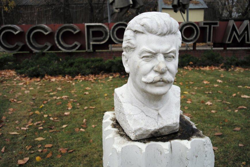 Rusijoje vis dar garbinamas Stalinas.