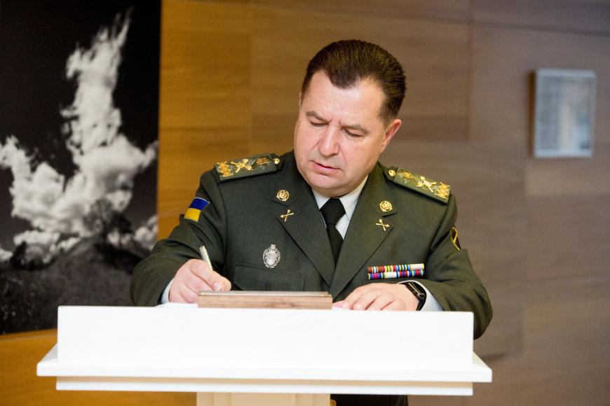 L. Linkevičiaus ir S.Poltorako susitikimas