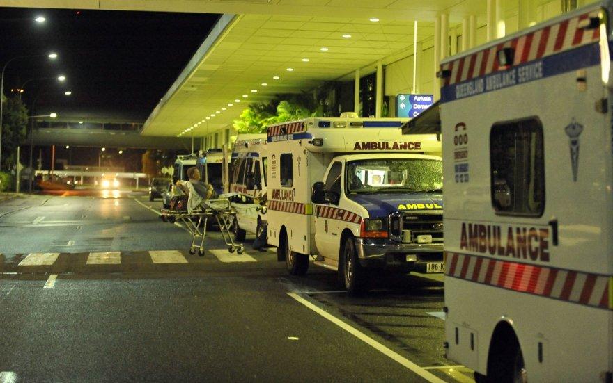 Ligoninė Australijoje