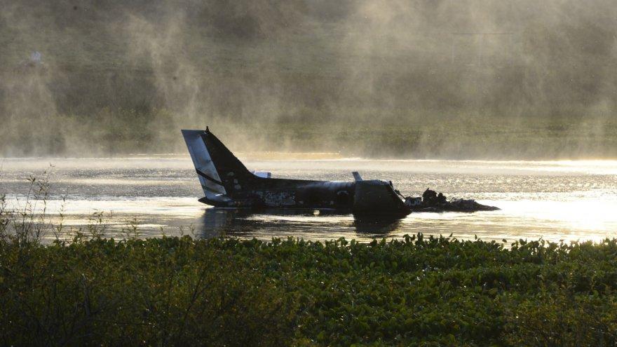 Urugvajuje sudužęs lėktuvas