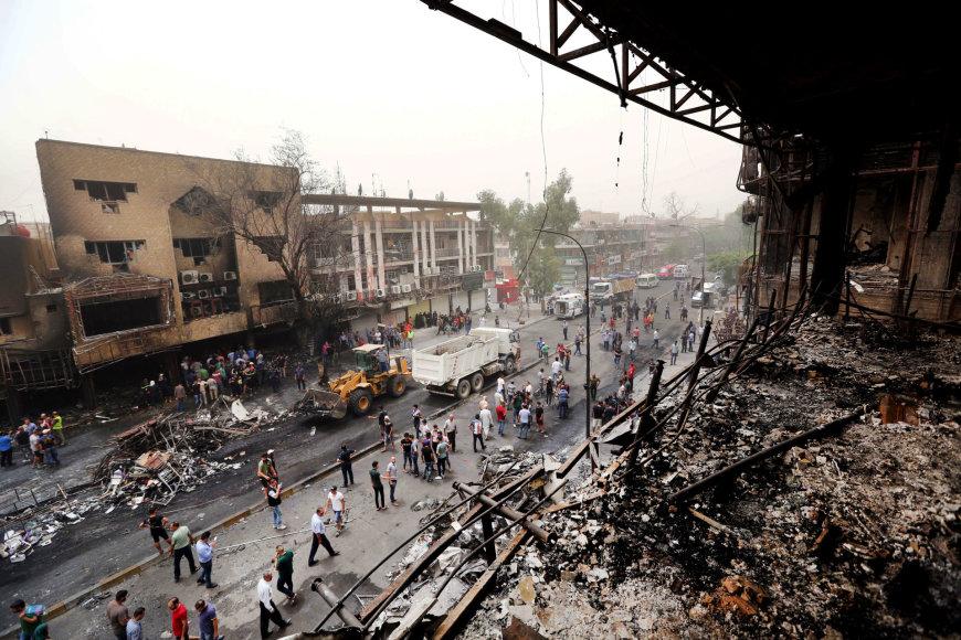 Sprogimas Bagdade