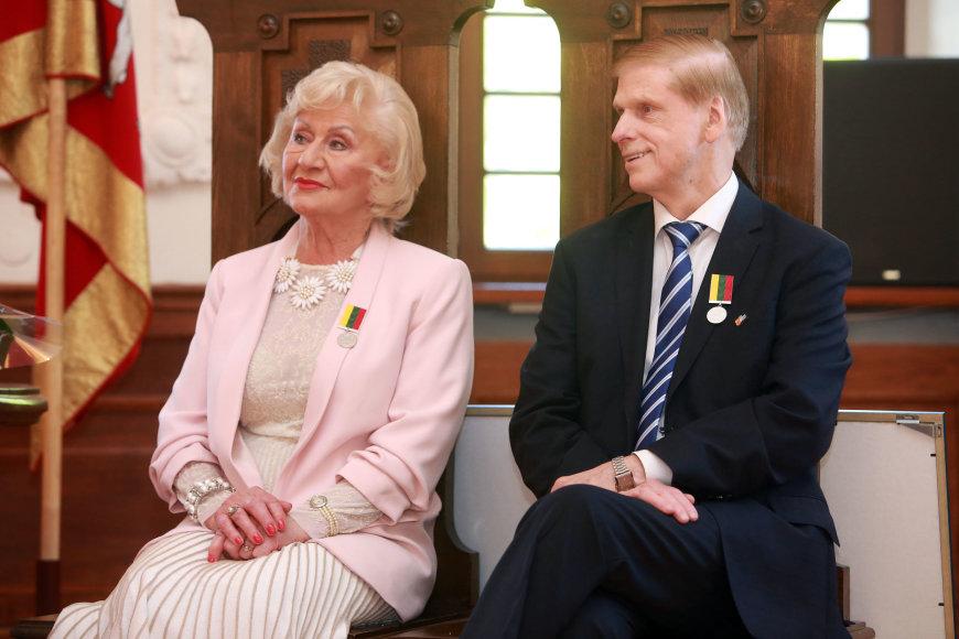 Kauno miesto garbės piliečio vardo suteikimo ceremonija