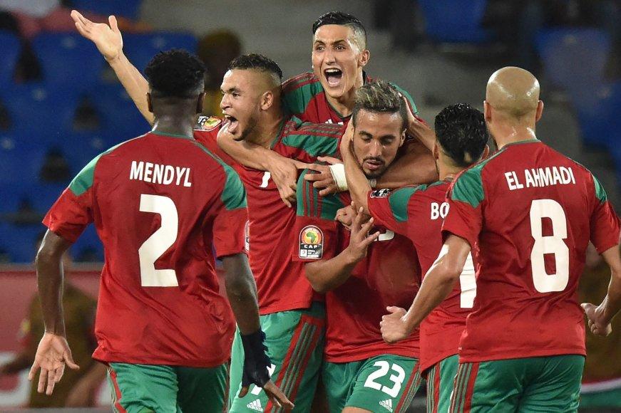Maroko futbolininkai