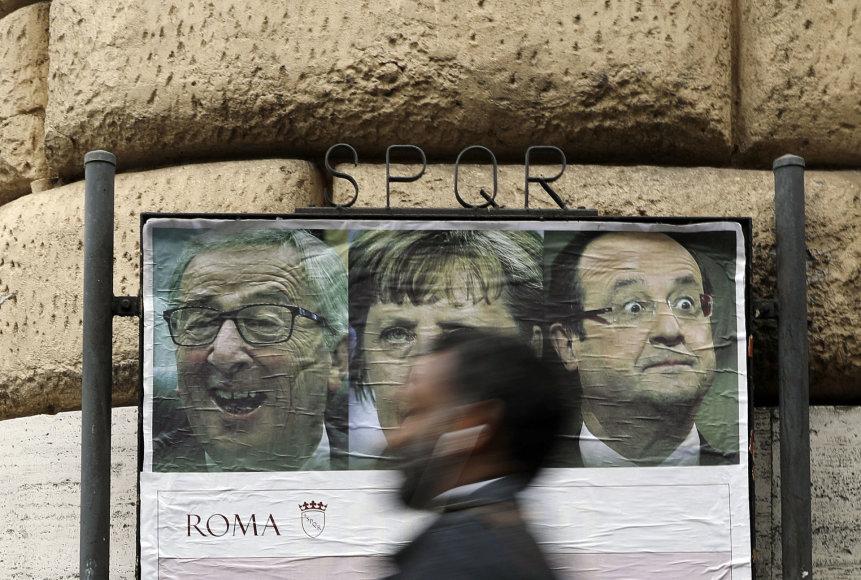 Romoje laukiama ES viršūnių susitikimo