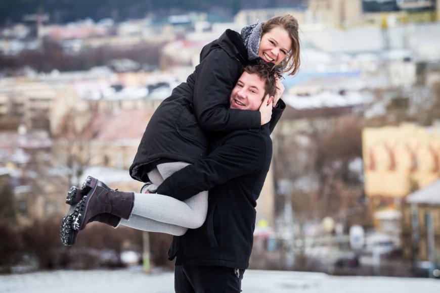 Jonas Gricius ir Anke Lechner
