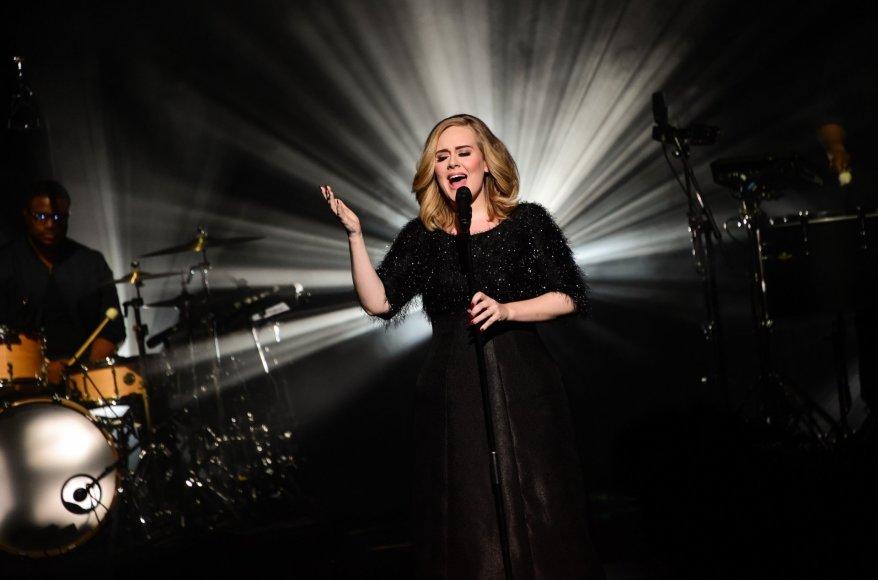 """Scanpix""/""SIPA"" nuotr./Adele"