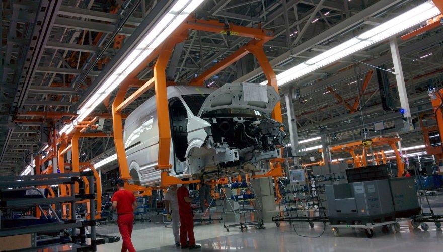 "Naujoji ""Volkswagen"" gamykla Vžesnijoje"