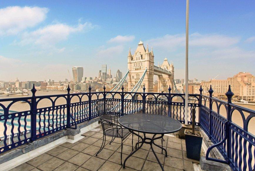Butas Londone, iš kurio atsiveria geriausias miesto vaizdas