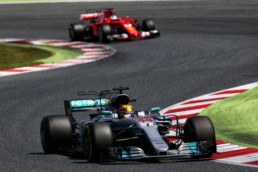 L.Hamiltonas Ispanijos GP