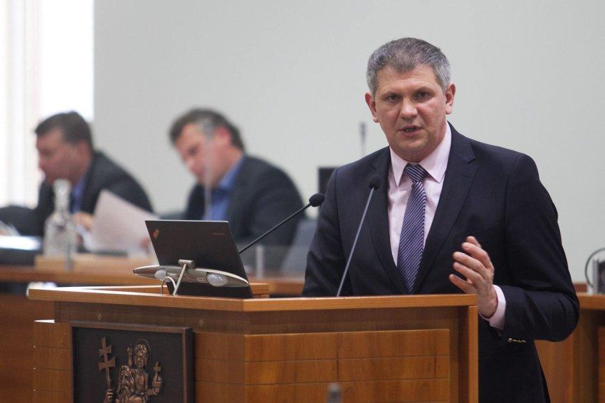 Vilniaus miesto klinikinės ligoninės direktorius Narimantas Markevičius