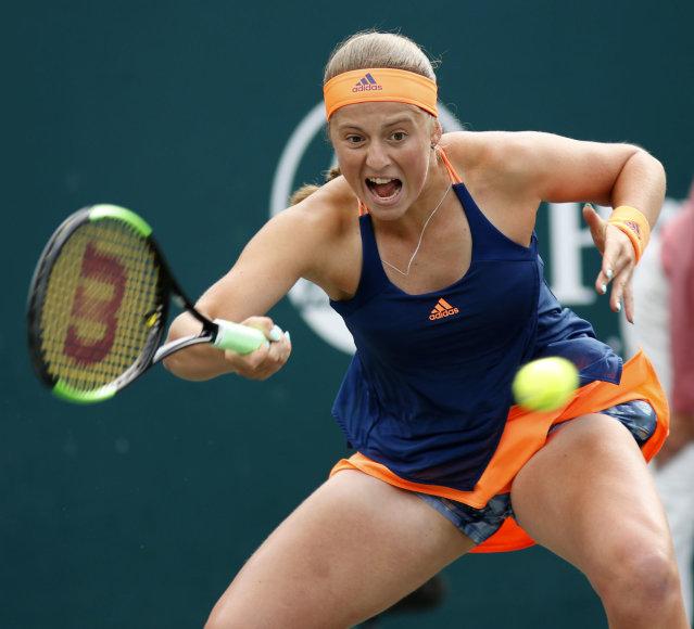 Jelena Ostapenko pasiektė trečią WTA serijos finalą karjeroje