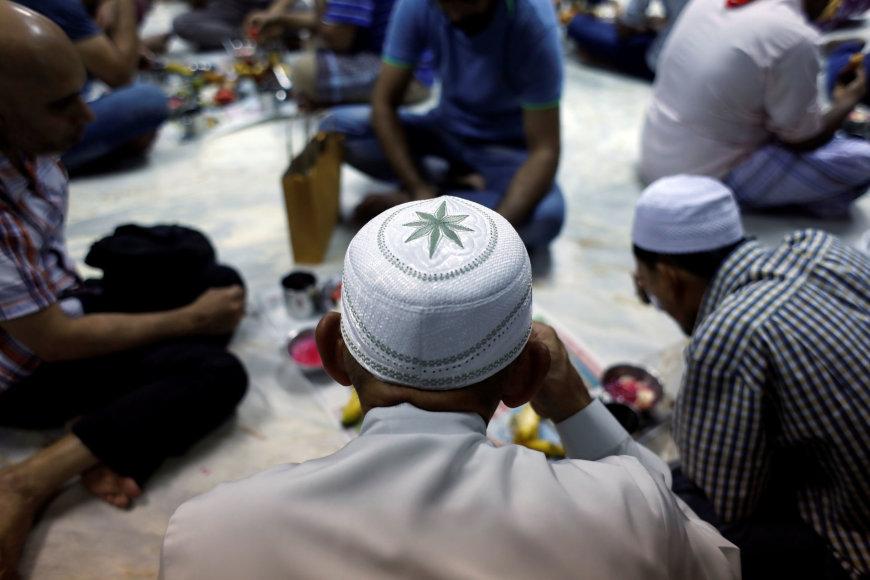 Per Ramadaną valgoma tik nusileidus saulei
