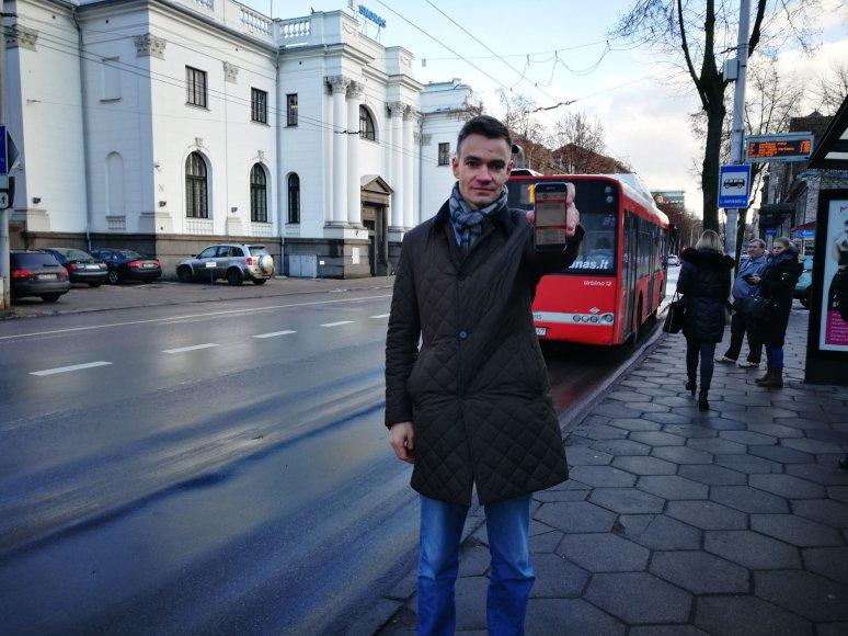 Analogų pasaulyje neturinčios programėlės neįgaliesiems pristatymas Kaune