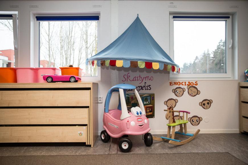 Vilniuje atidarytas naujas vaikų darželis iš modulinių patalpų