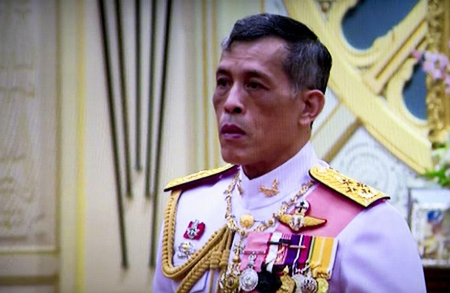 Naujasis Tailando karalius Maha Vajiralongkornas