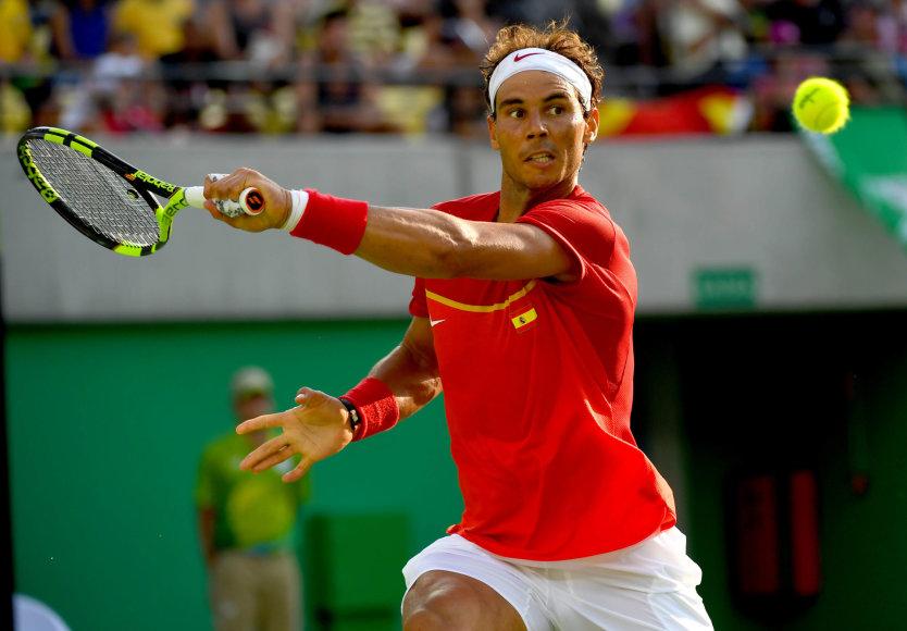 Rafaelis Nadalis – Rio olimpiados aštuntfinalyje