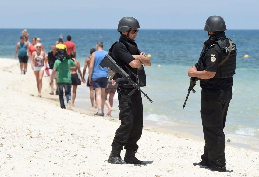Tuniso policija