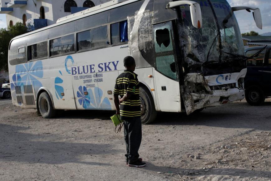 Dešimtis žmonių pražudęs autobusas
