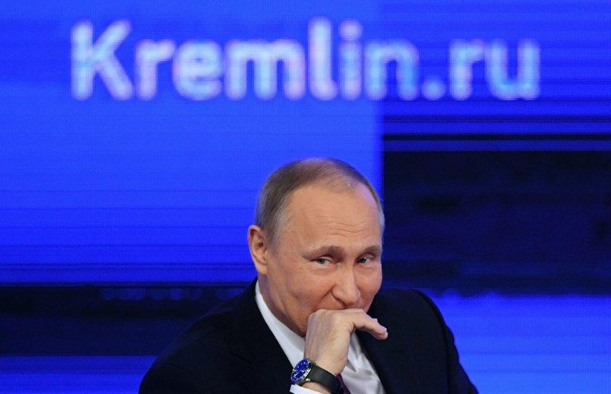 2016-ųjų Vladimiro Putino metinė spaudos konferencija