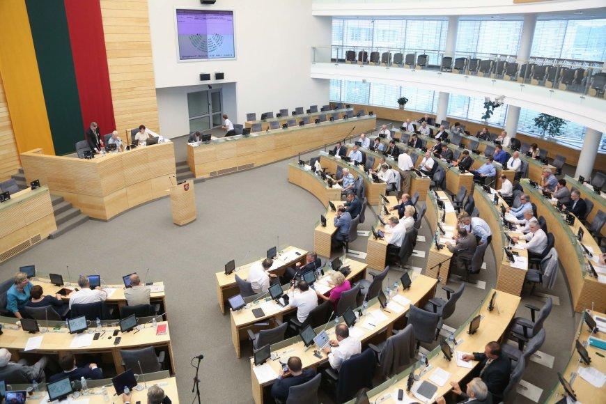 Vakarinis Seimo posėdis