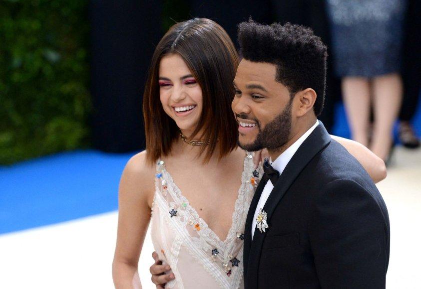 """""""Scanpix"""" nuotr./Selena Gomez ir The Weeknd"""