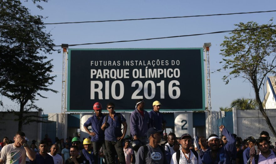 Rio olimpinio kaimelio statybos