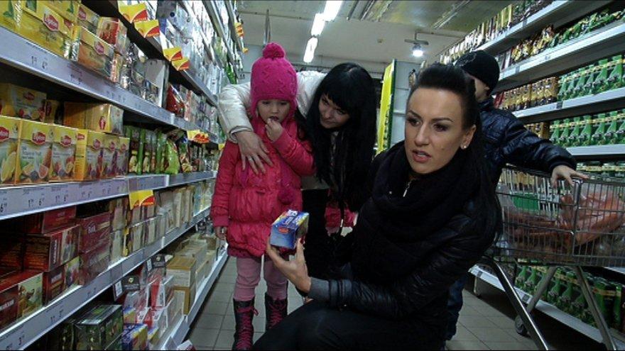 """Katažina Zvonkuvienė """"Maisto banko"""" akcijoje"""