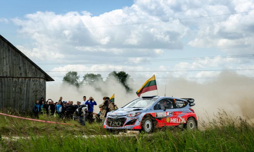 WRC etapas Lietuvoje. Manto Volungevičiaus nuotr.