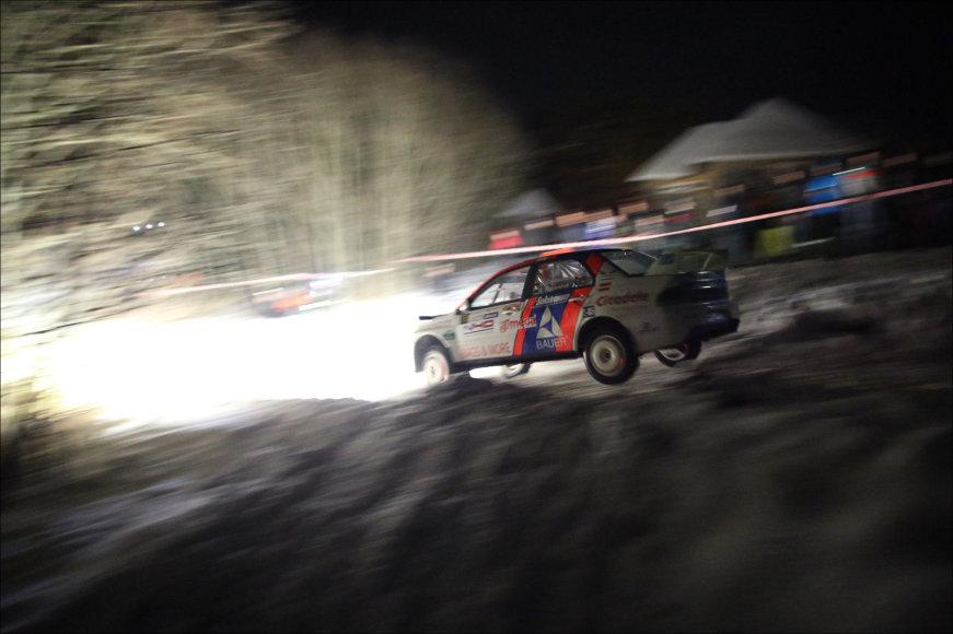 """G.Matulaičio nuotr./Natiniai """"Winter rally"""" ruožai"""