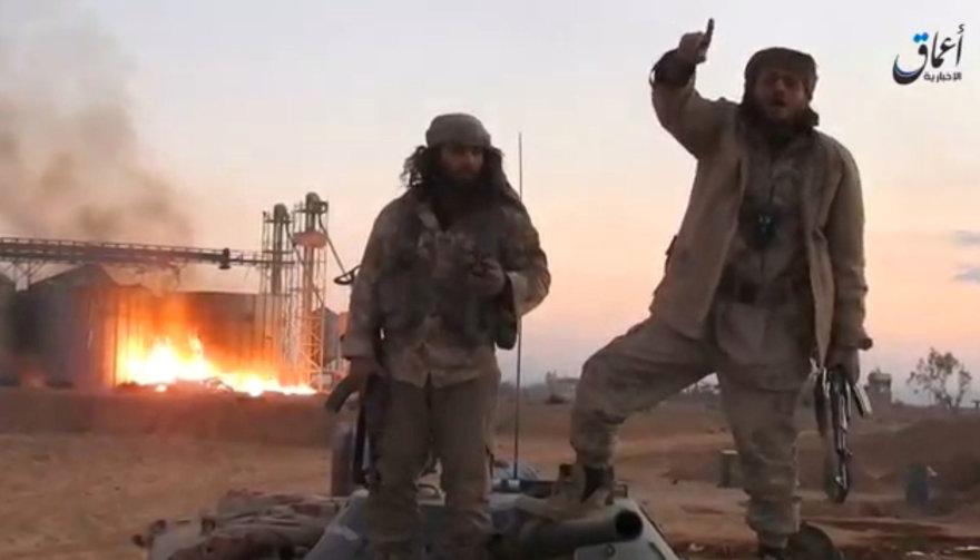 IS džihadistai sugrįžo į Palmyrą