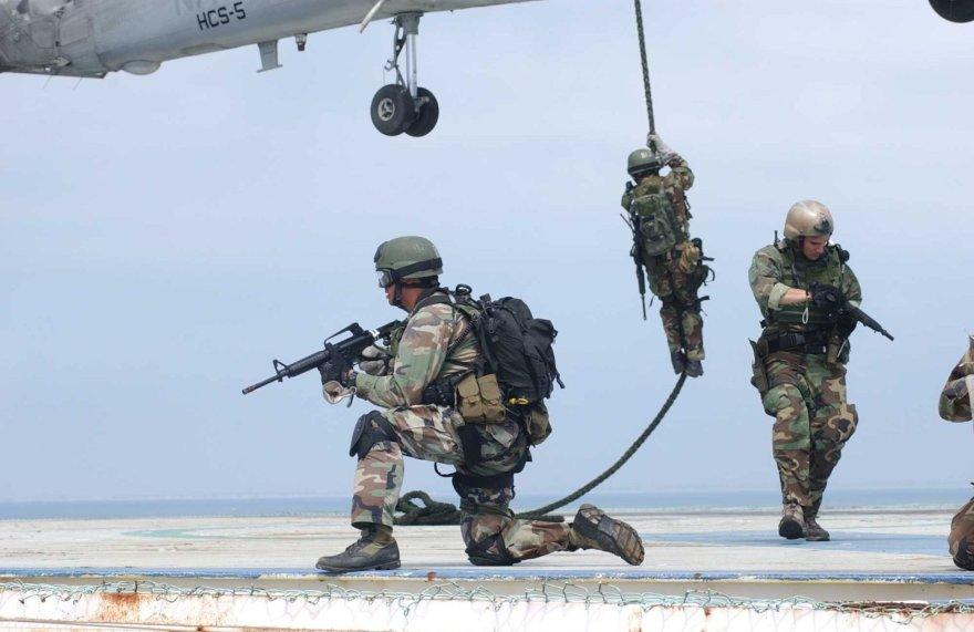 JAV specialiųjų pajėgų kariai