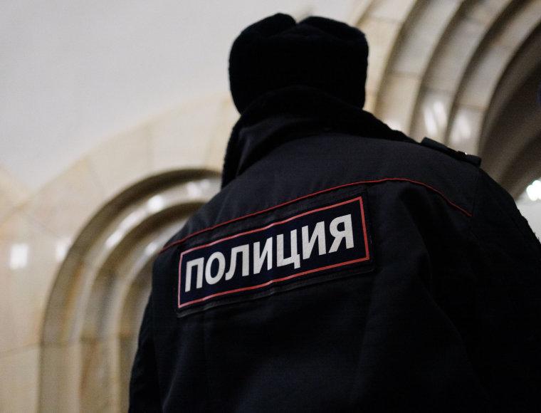 Maskvos policininkas
