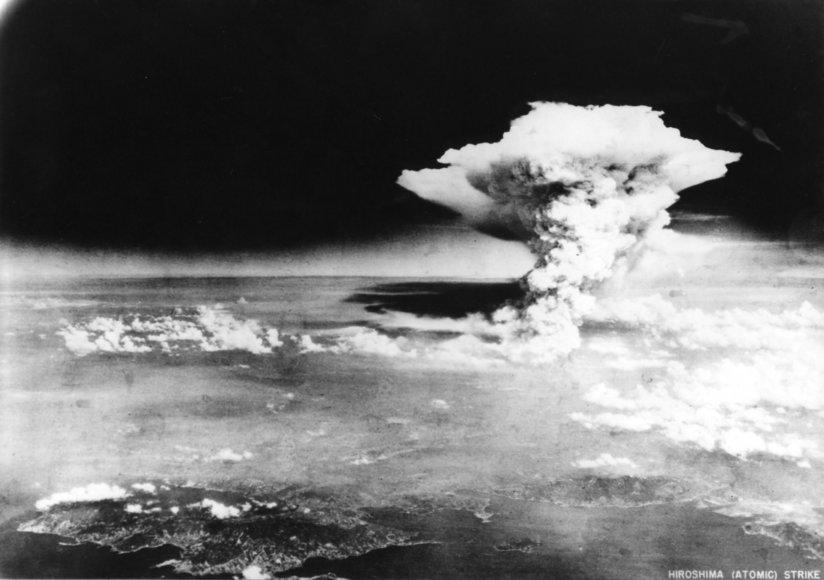 Hirošima po atominės bombos sprogimo