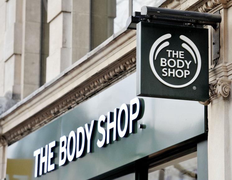 """The Body Shop"" parduotuvė"