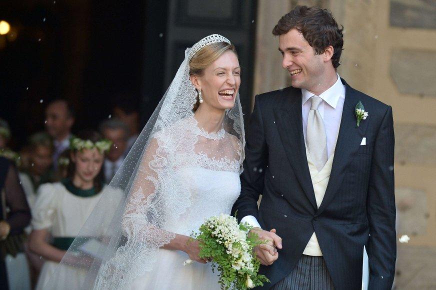 Belgijos princas Amedeo ir Elisabetta Maria Von Wolkenstein Rosboch