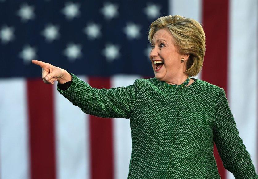 "AFP/""Scanpix"" nuotr./Hillary Clinton"