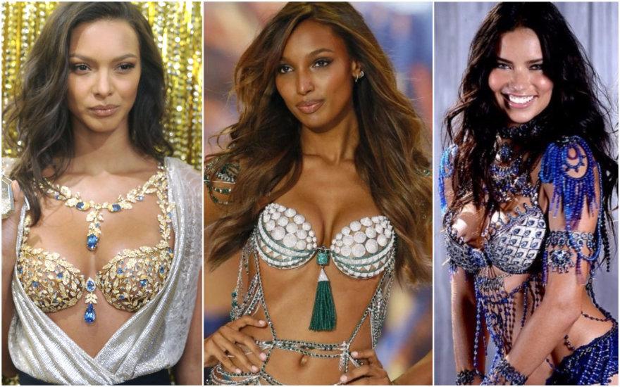 Lais Ribeiro, Jasmine Tookes, Adriana Lima