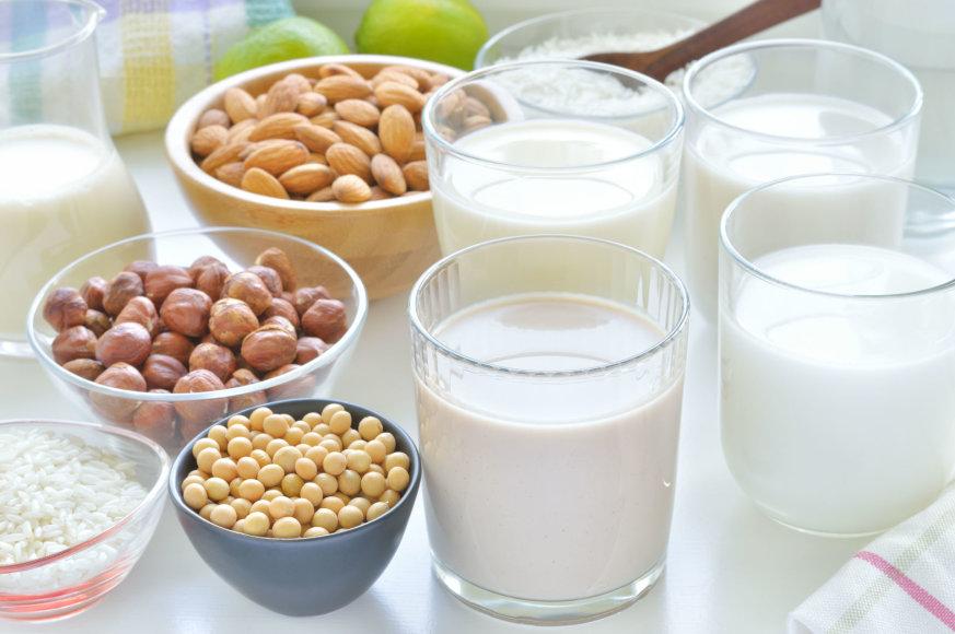 Vida Press nuotr./Įvairių rūšių pienas