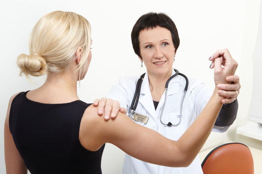 Fizinės medicinos ir reabilitacijos gydytoja Virginija Kirtiklienė