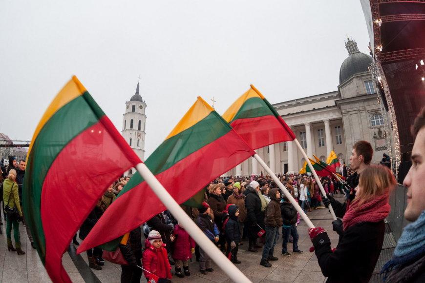 """pirmą kartą Vilniuje organizuojama šventinė jaunimo eisena """"Lietuvos valstybės keliu"""""""