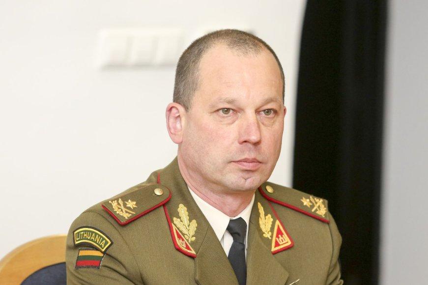 Lietuvos kariuomenės Jungtinio Štabo viršininkas generolas Vilmantas Tamošaitis