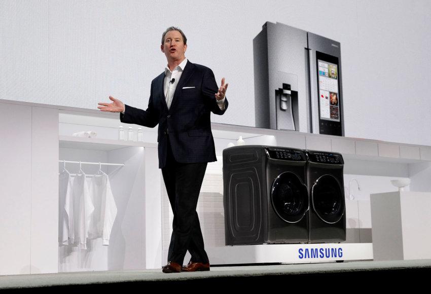 """""""Samsung"""" buitinės technikos pristatymas"""