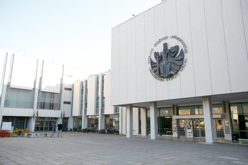 Eriko Ovčarenko/15min.lt nuotr./Vytauto Didžiojo universitetas pritaikytas judėjimo negalią turintiems studentams
