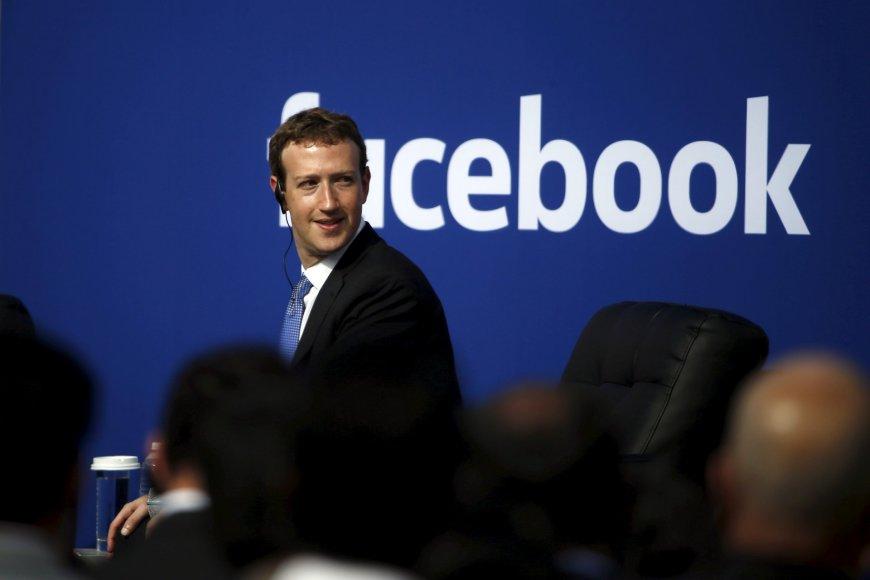 """Reuters""/""Scanpix"" nuotr./""Facebook"" generalinis direktorius Markas Zuckerbergas"