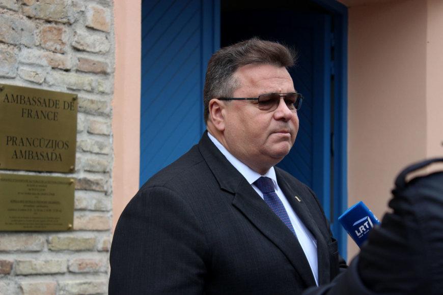 Užuojautų pareiškimas dėl išpuolio Nicoje prie Prancūzijos ambasados Vilniuje