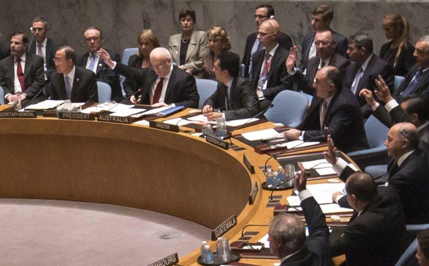 Balsavimas Jungtinių Tautų Saugumo Taryboje