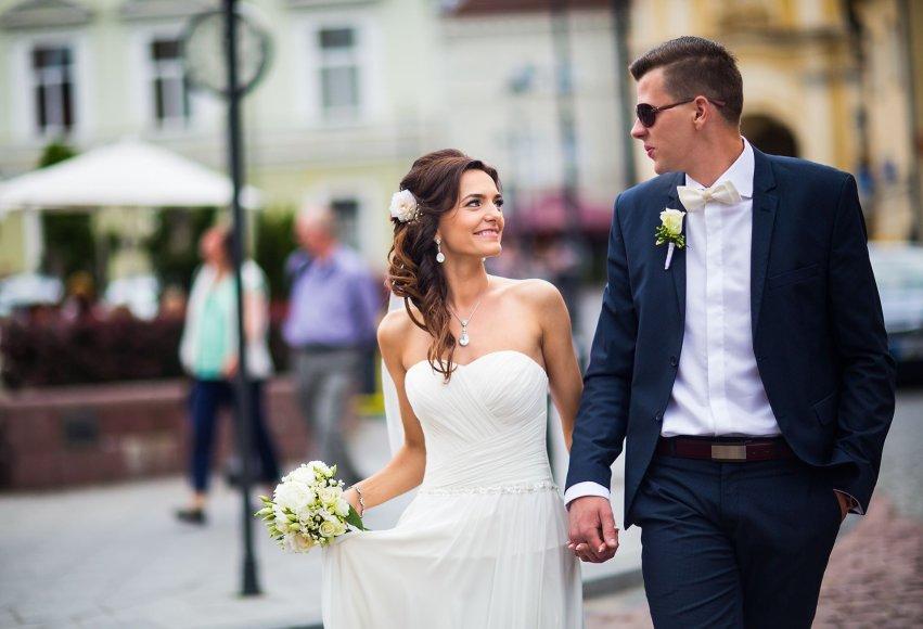 Sigitos ir Artūro Andrijevskių vestuvių akimirka