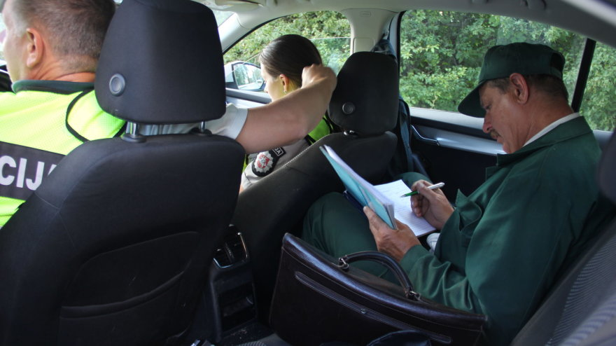 Panevėžyje sulaikytas girtas vairuotojas