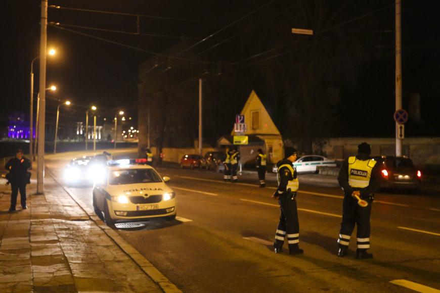 Vilniaus policija vėl išsiruošė į girtų vairuotojų medžioklę